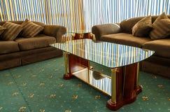 Luksusowy wewnętrzny pokój hotel w rocznika stylu Obraz Royalty Free