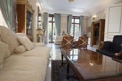 Luksusowy willi wnętrze fotografia royalty free