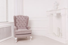 Luksusowy wnętrze w rocznika stylu obrazy royalty free