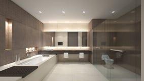 Luksusowy wodna szafa/3D rendering Obraz Royalty Free