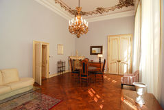 Luksusowy żywy pokój Fotografia Stock
