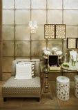 Luksusowy żywy pokój Obrazy Stock
