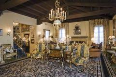 Luksusowy Żywy pokój W domu Obrazy Royalty Free