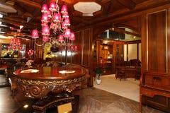 Luksusowy żywy pokój Fotografia Royalty Free