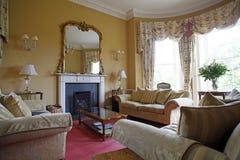 Luksusowy żywy pokój Zdjęcia Stock