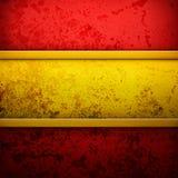 Luksusowy złota i czerwieni tło ja Obraz Stock