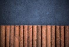 Luksusowych cygar rabatowy tło Zdjęcie Royalty Free