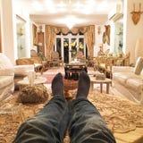 Luksusu dom Obrazy Stock
