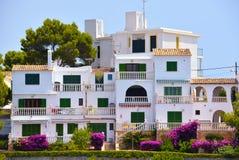 Luksusu dom w Mallorca, Hiszpania fotografia stock