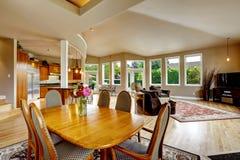 Luksusu domowy wnętrze Nieruchomość w WA Zdjęcia Royalty Free