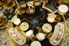 Luksusu miejsce spotkania i odpoczynek Obrazy Royalty Free