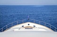 Luksusu motorowy jacht Zdjęcia Stock