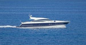 Luksusu motorowy jacht Obrazy Royalty Free