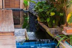 Luksusu ogród dla domowego wnętrza Zdjęcie Royalty Free