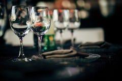 Luksusu Stołowy położenie dla przyjęcia, bożych narodzeń, wakacji i ślubów, Zdjęcia Royalty Free