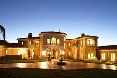 luksusu w domu obraz stock