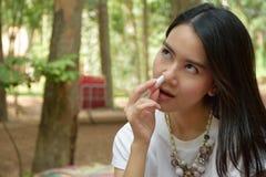 Lukta arominhalatorn fotografering för bildbyråer