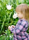 lukta för barnblomma royaltyfri bild