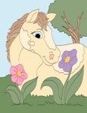 Lukta nätta blommor Royaltyfri Bild