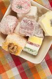 Lukum (Turkish Delight) assort Royalty Free Stock Image