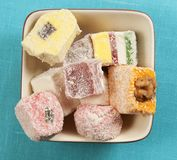 Lukum (Turkish Delight) assort Stock Photo