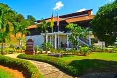 LUKUT MUSEUM. History enthusiasts should make a trip to the historical town of Lukut and visit its main attractions, the Lukut Museum and Fort. Here, you can royalty free stock images