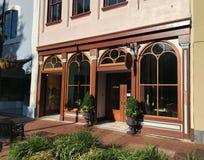 Lula Drake Wine Parlour, Columbia, South Carolina.  royalty free stock photos