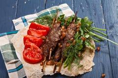Lule-Kebabs lizenzfreies stockfoto