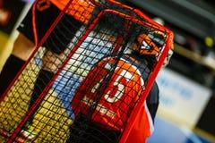 Floorball division 1, IBK Lulea vs Skelleftea IBK - EDITORIAL royalty free stock image