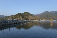 Lulin Lake in Lushan mountain Royalty Free Stock Photos