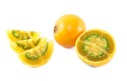 Lulo  fruit from Colombia Stock Photography