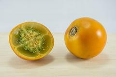 Lulo Tropisch Fruit Stock Afbeeldingen