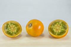 Lulo Tropisch Fruit Royalty-vrije Stock Afbeeldingen