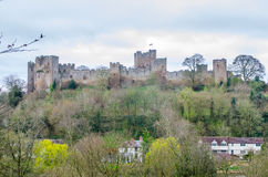 Ludlow Castle, Shropshire, Britain Royalty Free Stock Photography