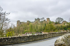 Lulow-Schloss, Shropshire, Großbritannien, Vereinigtes Königreich Lizenzfreies Stockbild