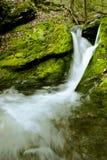 Lulu Cascade Falls, Berkshire County stockbild