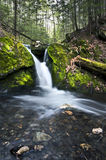 Lulu Cascade Falls,Berkshire County Royalty Free Stock Photo