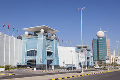LuLu Mall em Fujairah, UAE imagens de stock royalty free