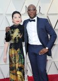 Lulu Wang und Barry Jenkins stockfotos