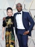 Lulu Wang und Barry Jenkins lizenzfreies stockfoto