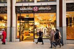 Lululemon Stock Photography