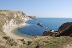 Lulworth Bucht Stockfoto