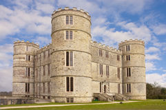Lulworth castle Royalty Free Stock Photos