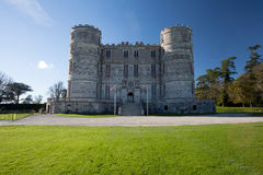 Lulworth castle Dorset Royalty Free Stock Photography