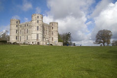 Lulworth castle and grounds Royalty Free Stock Photos
