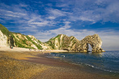 Lulworth Cove Royalty Free Stock Photography