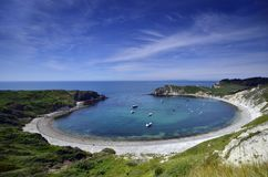 Free Lulworth Cove Royalty Free Stock Photos - 58351158