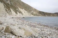 Lulworth Cove Beach, Dorset Royalty Free Stock Images