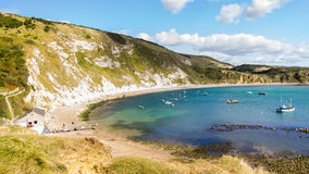 Lulworth Cove Dorset Royalty Free Stock Photo