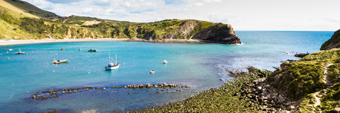 Lulworth Cove Dorset Stock Images